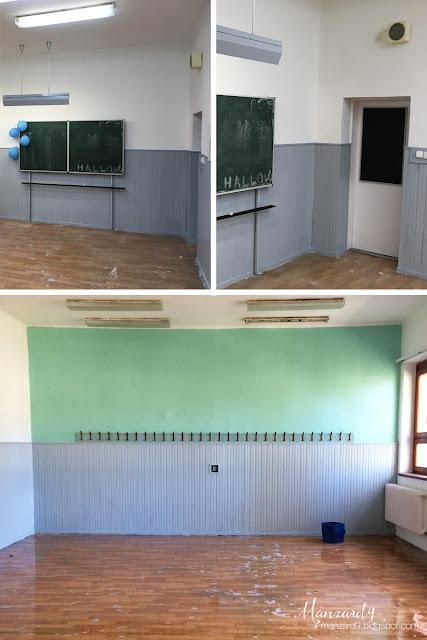 DIY osztályterem felújítás - finisben