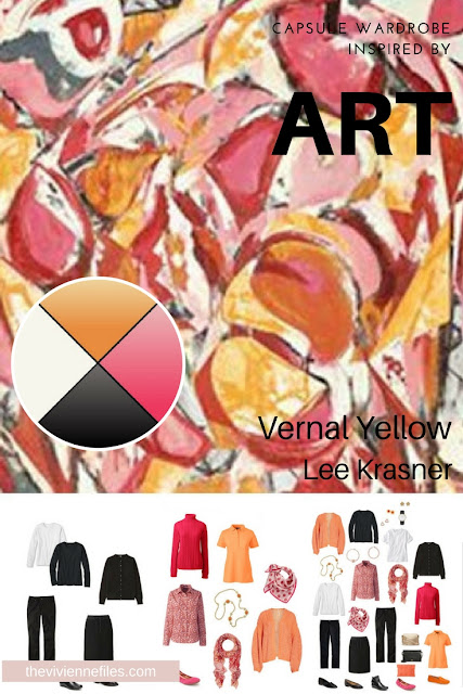 Can You Expand a Successful Travel Wardrobe? Revisiting Start with Art - Vernal Yellow by Lee Krasner