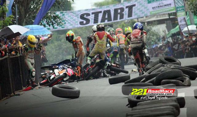 Road Race Blitar 2017, Hasil Lomba dan Segudang Cerita Aksi Dalam Galery
