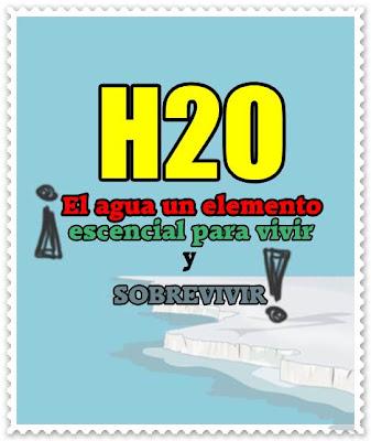 El agua h2o