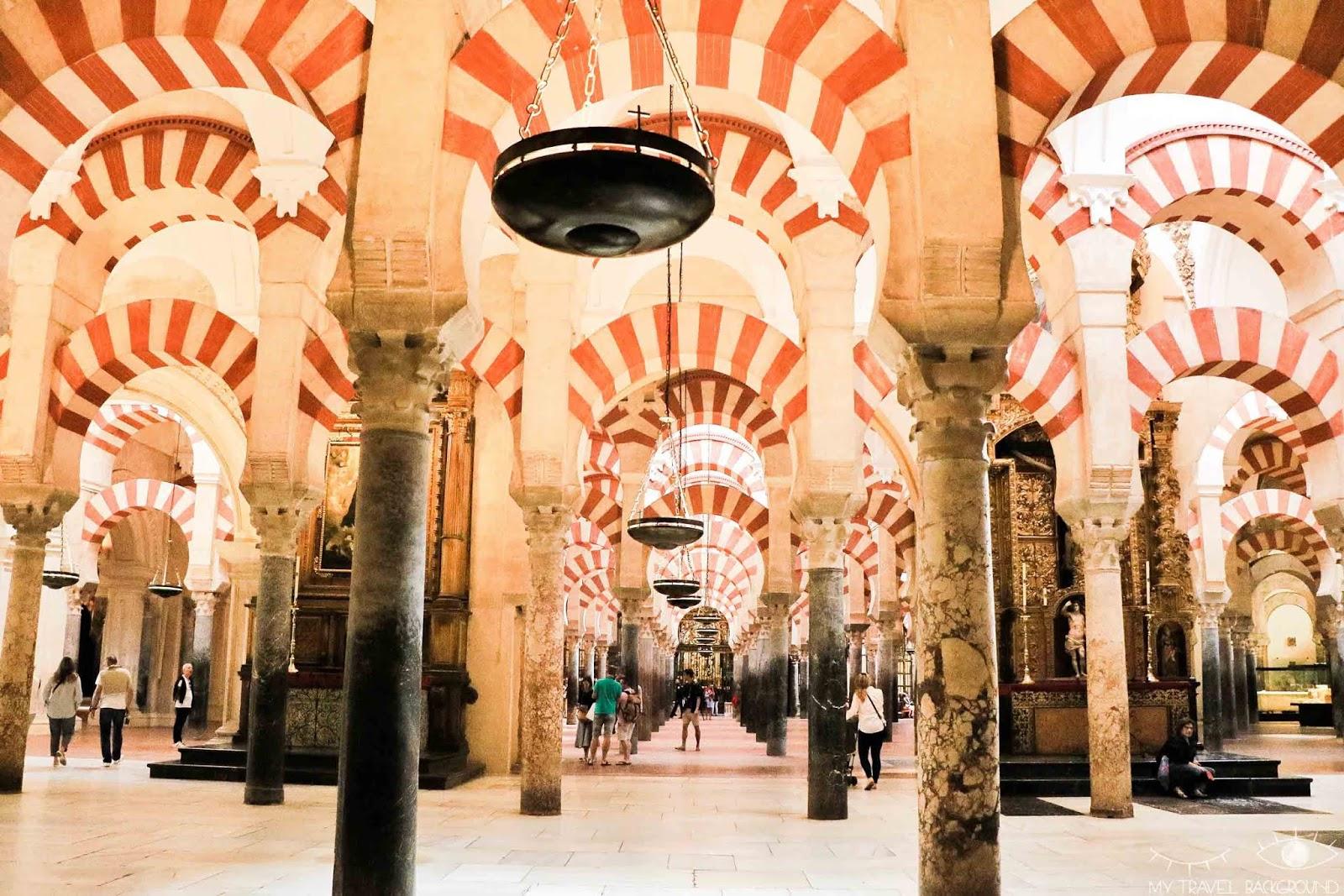 My Travel Background : mon road trip de 10 jours en Andalousie, Espagne : itinéraire et infos pratiques - Mosquee-cathédrale de Cordoue