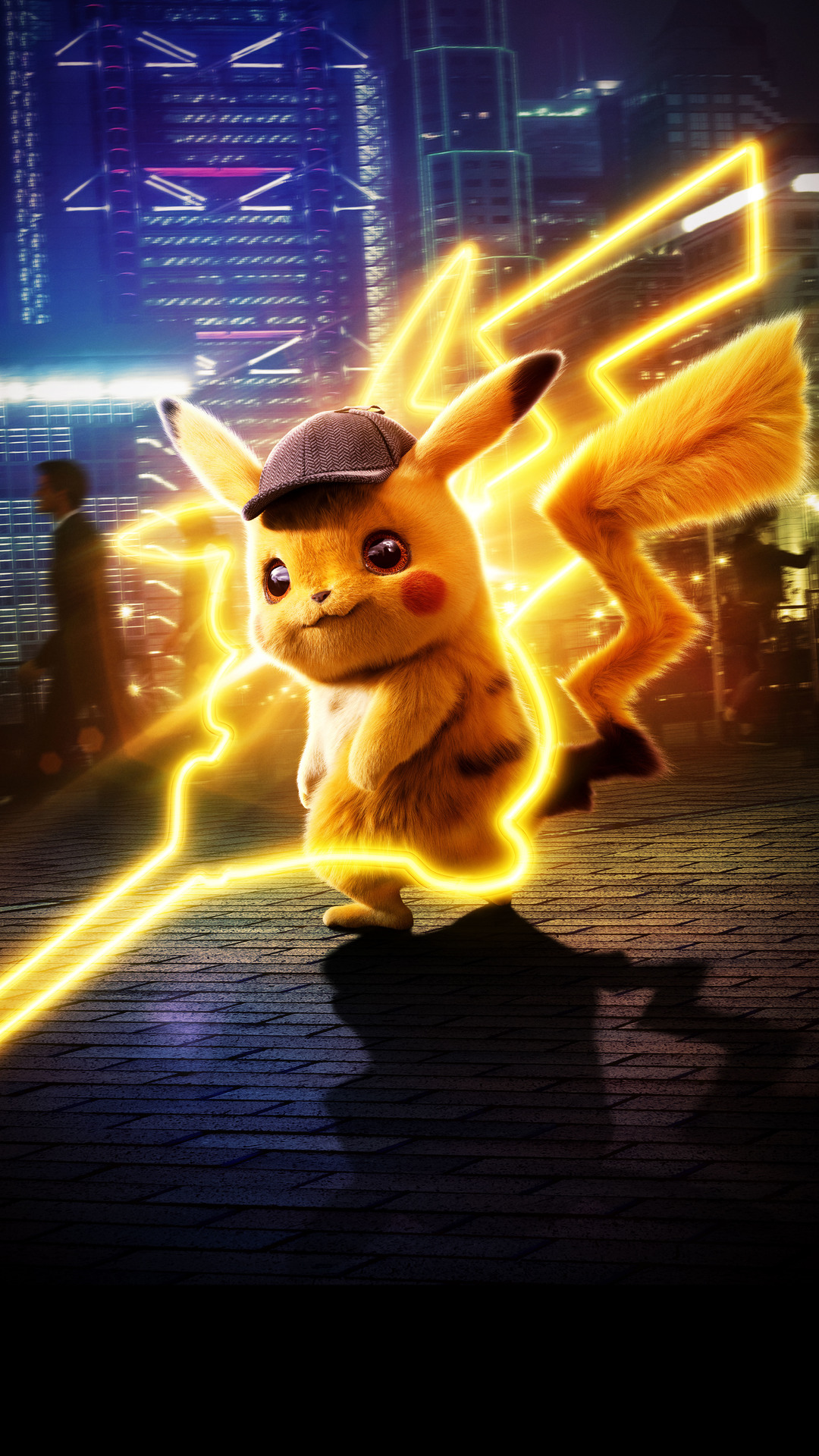 pokemon detective pikachu cute wallpaper