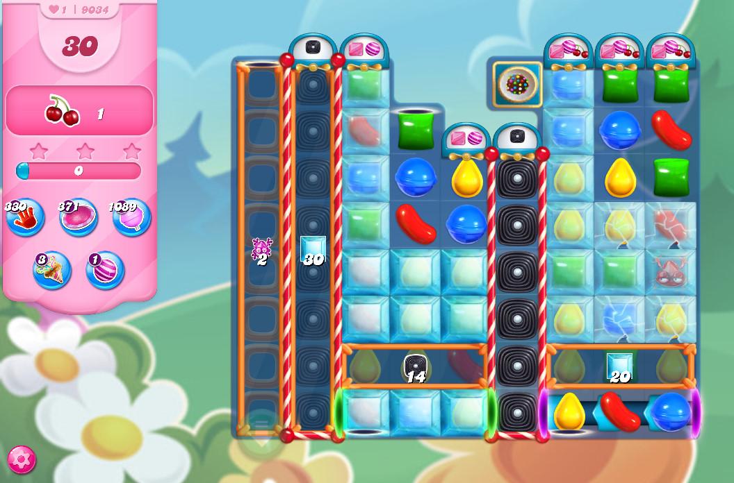 Candy Crush Saga level 9034
