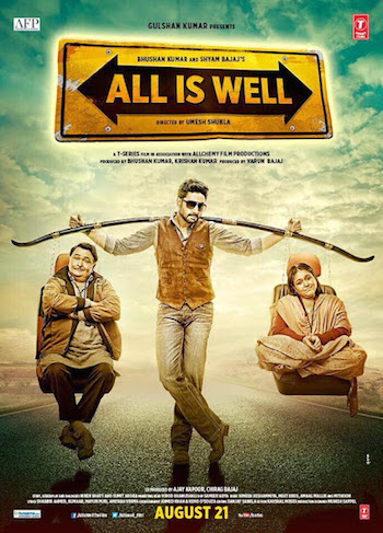 All Is Well 2015 Hindi DVDRip 700mb
