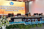 Antisipasi Cuaca Ekstrim Serta Upaya Penanganan dan Pencegahan Covid-19 Pemkot Gelar Rakor Bersama TNI/Polri