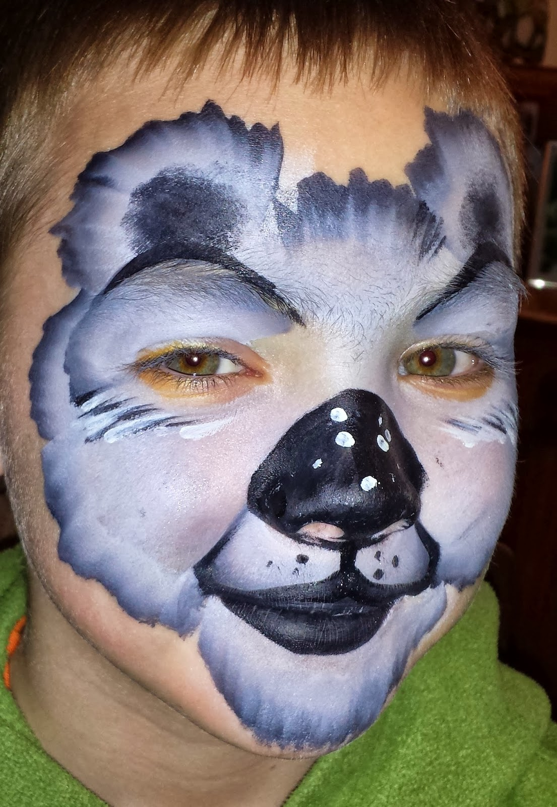 Zoo Animal Face Painting Designs