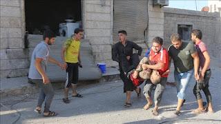 Lagi, 6 Warga Sipil Jadi Korban Serangan Udara Rezim Syiah Nushairiyah di Suriah