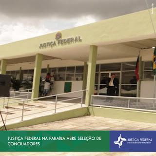 Justiça Federal na Paraíba abre seleção de conciliadores em  Guarabira PB