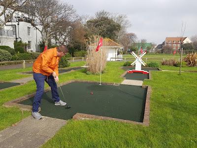 Splash Point Mini Golf at Denton Gardens, Worthing