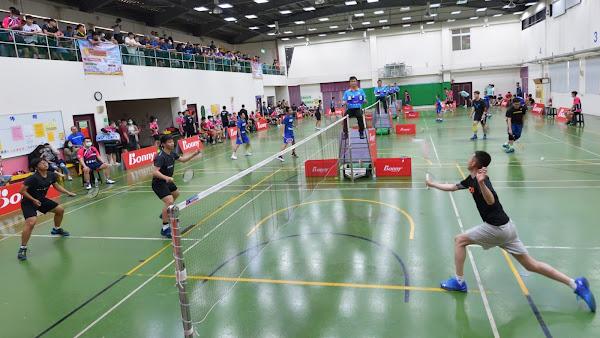 員榮盃全國羽球賽熱情開打 逾三百位好手參賽較勁