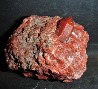 Jacinto de Compostela, Keuper de Chella, Valencia, España, 1.3 cm cristal