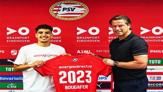 إيندهوفن يمدد عقد الياس بوغابر لاعب شبان المنتخب المغربي