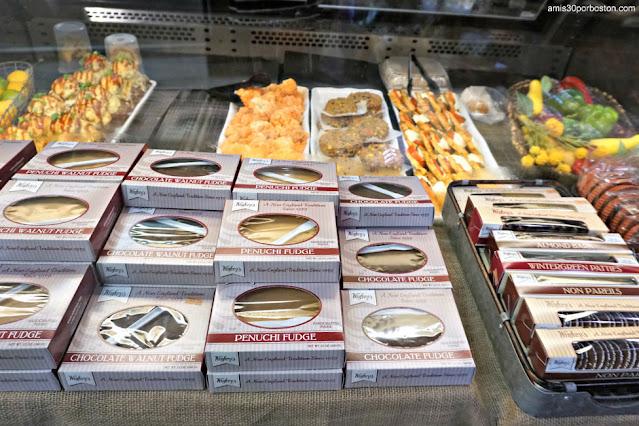 Dulces y Platos Preparados en la Carnicería Tuckaway en New Hampshire