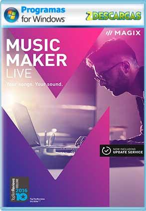 MAGIX Music Maker 2017 Live 24.1.5.119 Full [Mega]