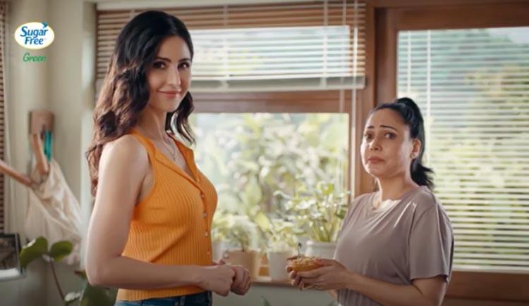 Katrina kaif and sugar free come together to reveal fitness ka pehla kadam