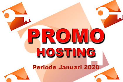 Kode Promo Hosting Indonesia - Januari 2020