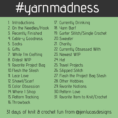 Yarn Madness Instagram Challenge