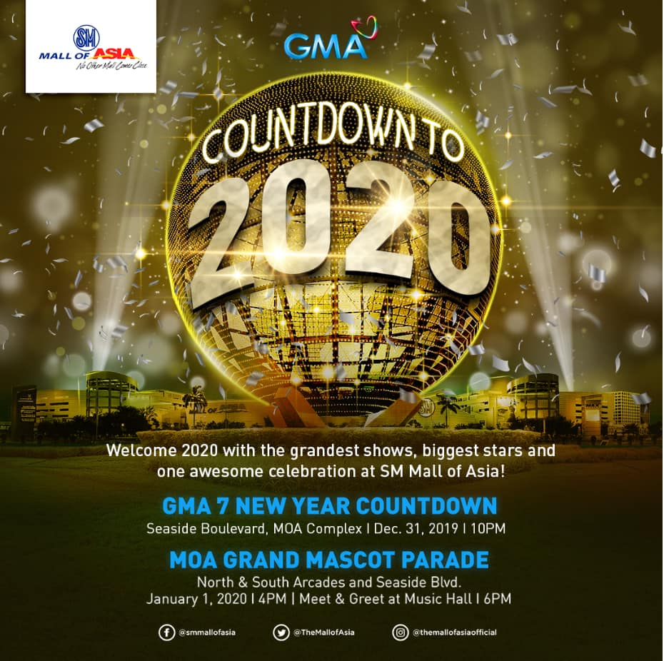 GMA Network's New Year Countdown to 2020