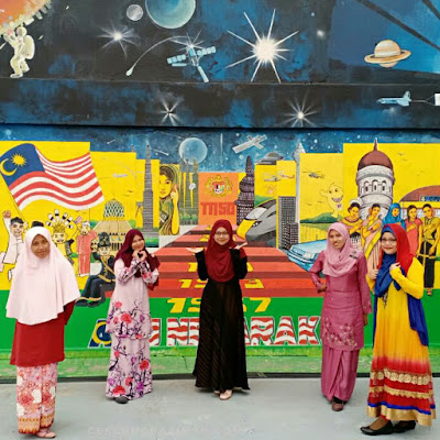 sambutan hari guru, tema international, tema baju antarabangsa, terima kasih cikgu 2018,
