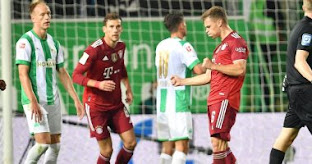 فاز بايرن ميونيخ بسهولة على مضيفه جروتر فورت 3-1 ليحتل صدارة الدوري الألماني