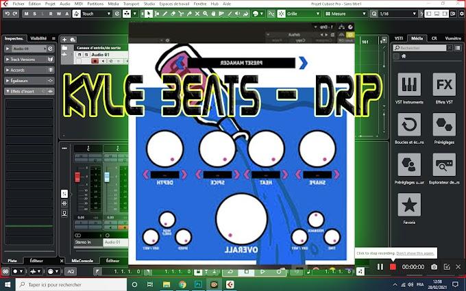 Kyle Beats - Drip FX VST, VST3, AAX, AU WIN.OSX x64 [01.2021]