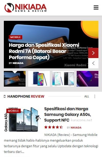 Lihat Harga HP Terbaru di NIKIADA.COM Aja