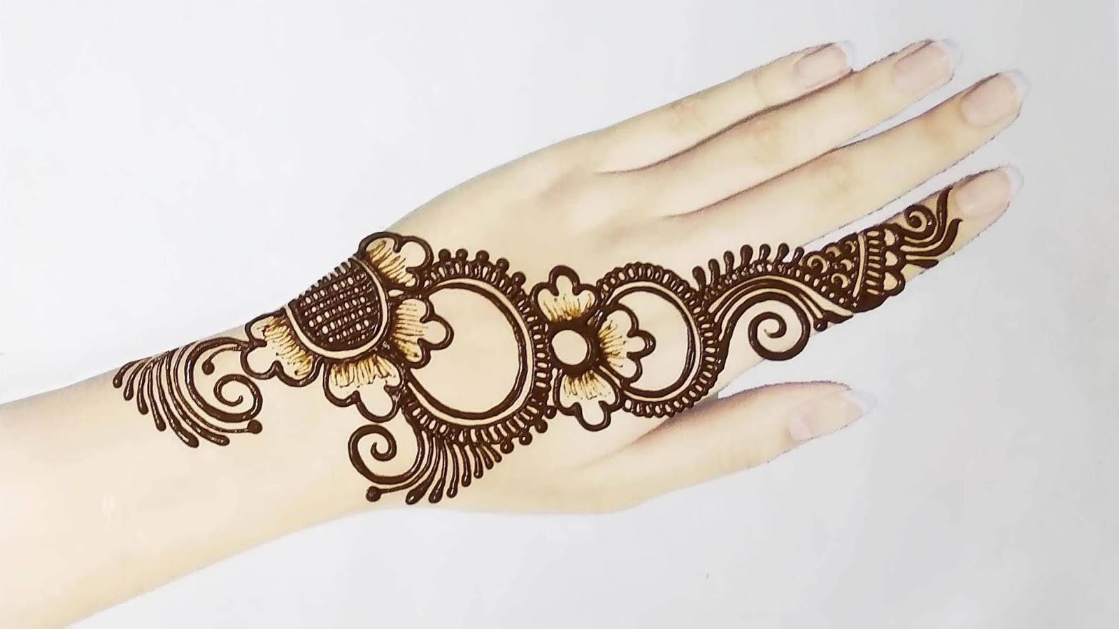 Easy Latest Simple Mehndi Design