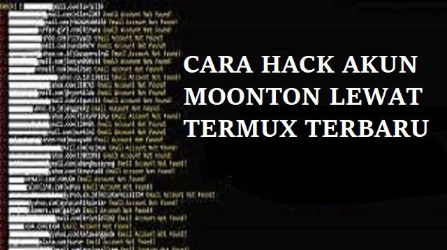 Cara Hack Akun Moonton