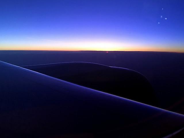 vuelo nocturno a Doha