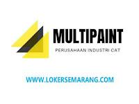 Loker Semarang di Perusahaan Industri Cat Multipaint Salesman dan Mekanik