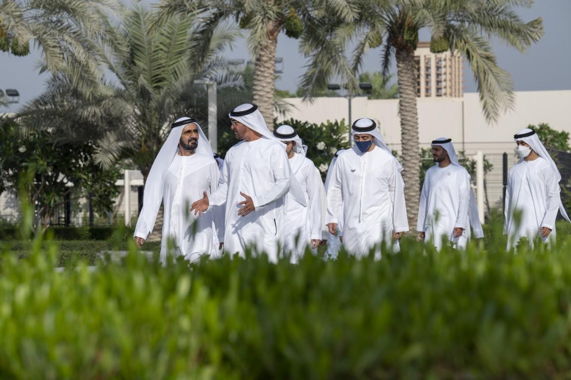UAE leaders meet to discuss COVID-19 national efforts