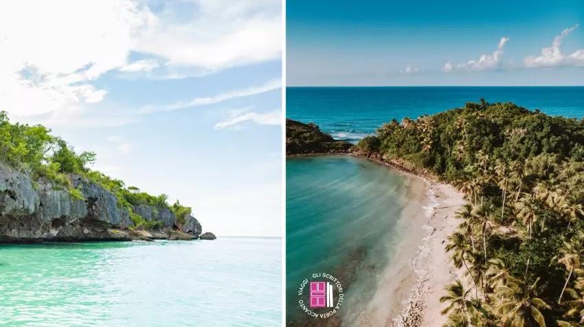 La splendida Bahia de las Aguilas e Samanà