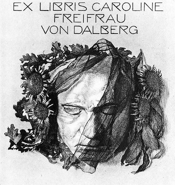 a bookplate by A. Cossmann