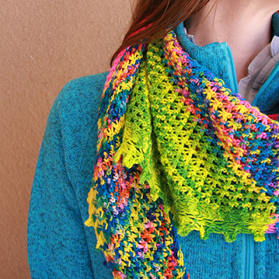Knitting Like Crazy: Lokum Shawl