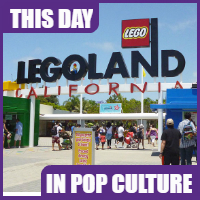 Legoland California opened on March 20, 1999