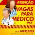 OPORTUNIDADE: A prefeitura de Iaçu informa que há oferta de vagas para médico de PSF. Os interessados devem encaminhar currículo para o e-mail da secretaria de Saúde.