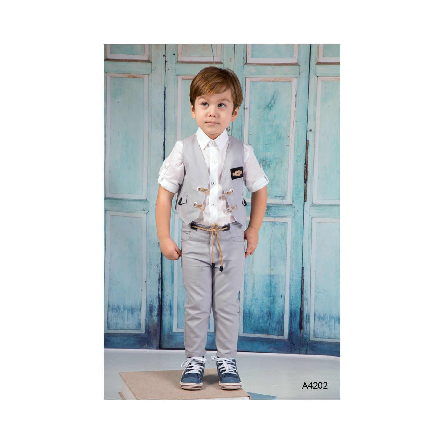 Baptismal clothes in modern style A4202