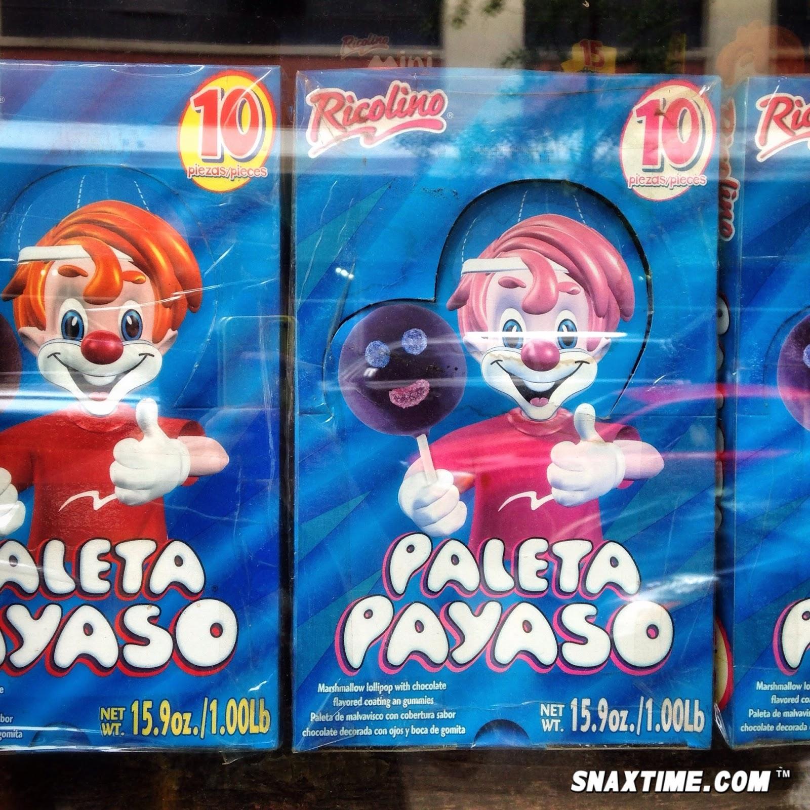 paleta payaso creepy mexican