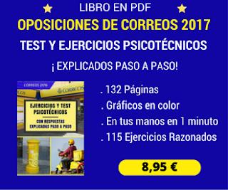 TEST PSICOTECNICOS OPOSICIONES CORREOS