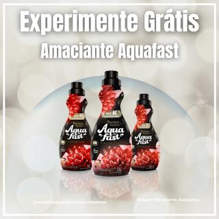 Amostra Grátis Brinde Grátis Amaciante Aquafast
