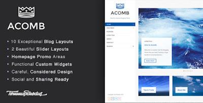 Acomb WordPress Theme Free Download