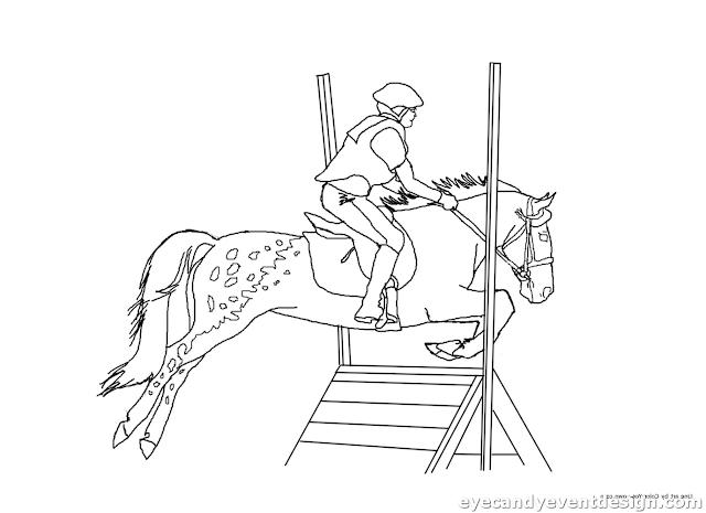 Ausmalbilder Pferd Kostenlos