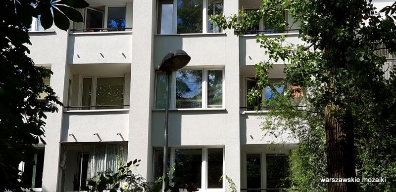 modernizm warszawski Warszawa Warsaw Śródmieście zieleń rzeźby wazy Halina Skibniewska mister warszawy 1974 architektura architecture
