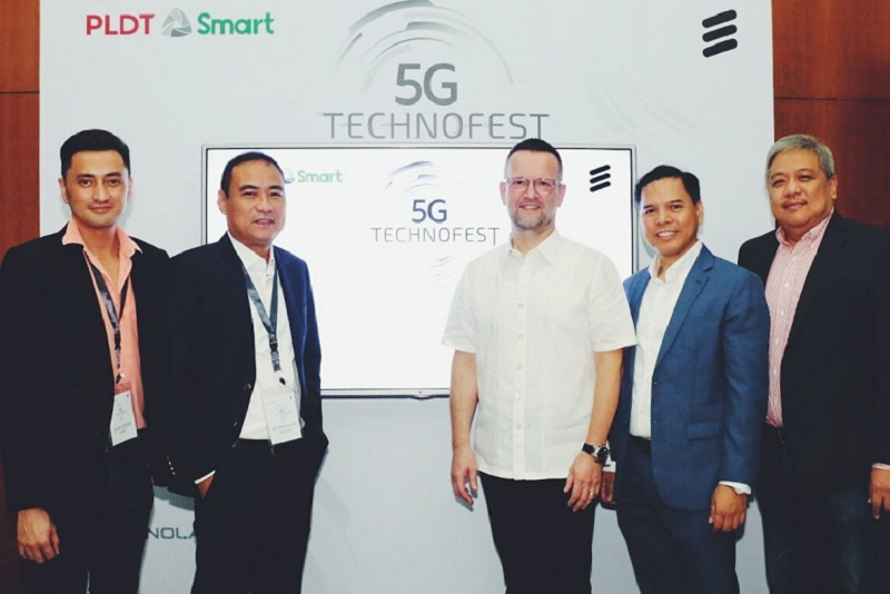 PLDT, Ericsson launches Technofest to boost knowledge on 5G tech