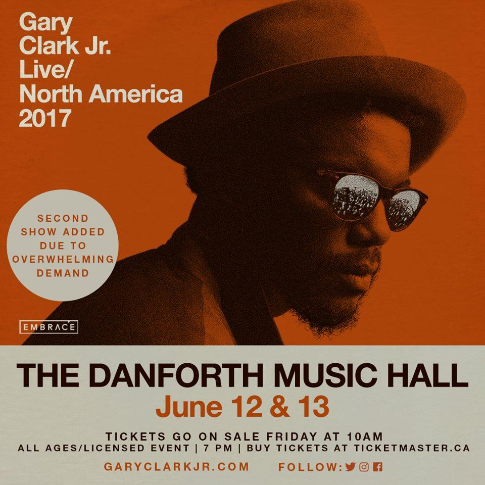 c a confidential gary clark jr live north america 2017 at danforth music hall toronto on. Black Bedroom Furniture Sets. Home Design Ideas
