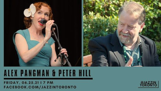 Alex Pangman & Peter Hill livestream, Friday
