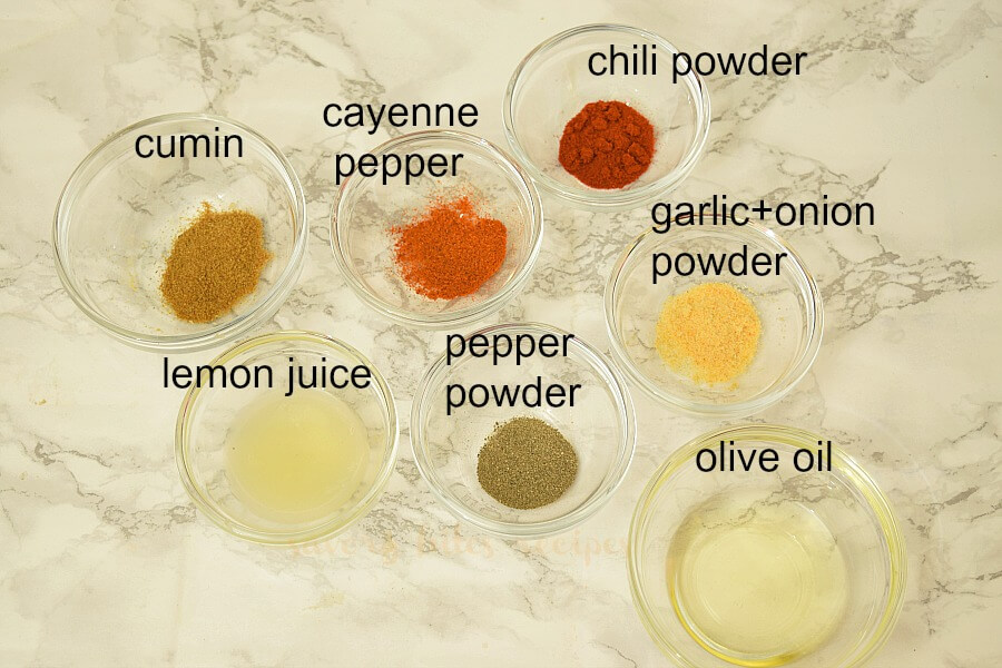 how to make chicken fajitas   - ingredients