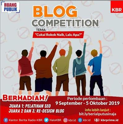 lomba blog KBR