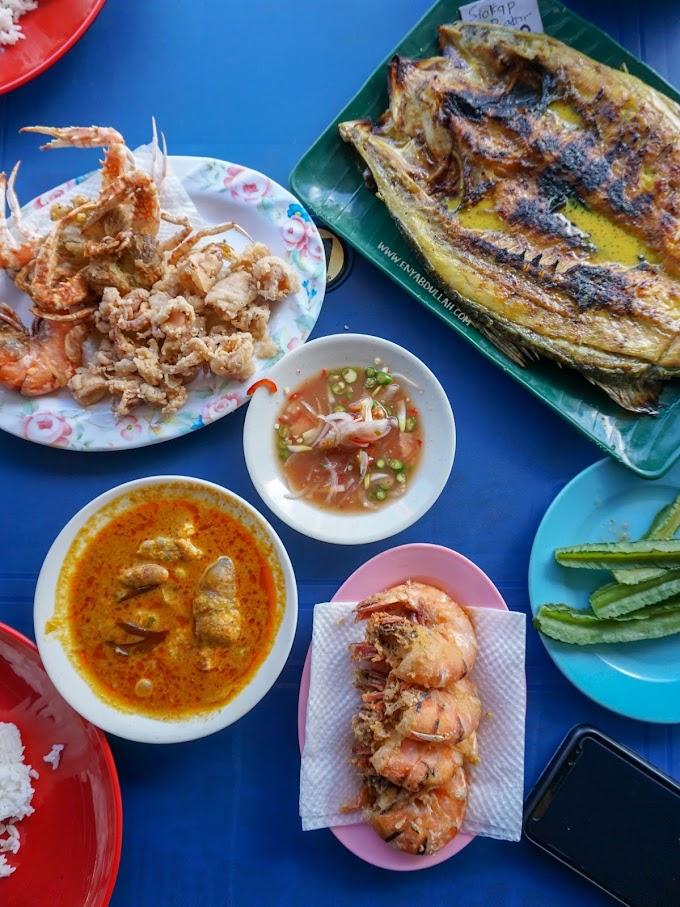Buffet Seafood Di Warung Kak Eta Kuala Perlis