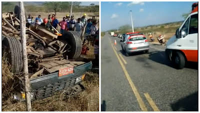 Feirante de Delmiro Gouveia, morre em um grave acidente automobilístico no município de Piranhas